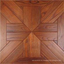 Lujoso piso de madera de parquet de teca chino de lujo de gama alta