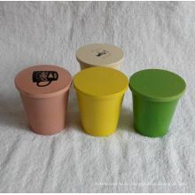 (BC-C1030) Горячий надув натурального бамбукового стакана для посуды с печатью