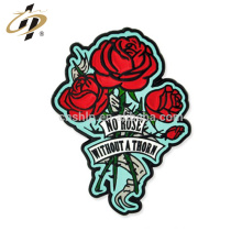 Hot selling custom rose for valentine gift metal lapel pins