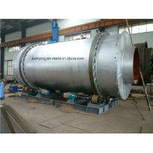 Secador de tambor rotativo único para mineração