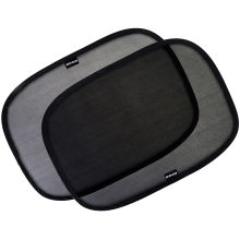 """Car Window Shade - (4 Pack) - 21""""X14"""" Cling Sunshade for Car Windows - Sun, Glare and UV Rays Protection for Your Child - Baby Side Window Car Sun Shades"""
