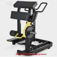 Hammer Strength Plate Loaded Standing Leg Curl Machine
