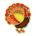 Thanksgiving Turkey Fall Enamel Lapel Pin