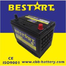 Bateria superior JIS 75D26L-Mf do veículo de Bestart Mf da qualidade 12V65ah
