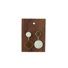 Usine de taille différente Présentoir à bijoux en bois en gros
