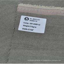 estoque de seda de cetim e tecido de algodão