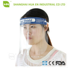 Protective face shield for dental