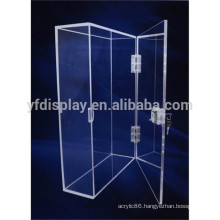 clear acrylic locking display case