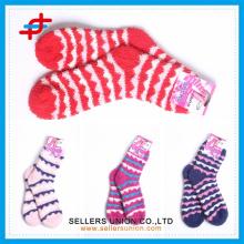 Microfiber home new style towel socks OEM service for women