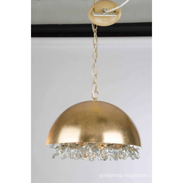 Golden Decorative Iron Crystal Pendant Lamp (SD1179/1B)