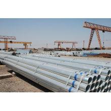 ASTM A53 SCH40 Tubos de aço galvanizados