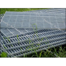 Поставка стальной горячеоцинкованной стальной решетки, дорожки
