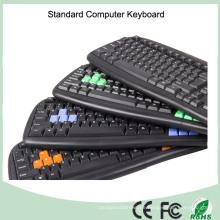 Kostenlose Probe Günstigstes Wired Computer Key Board (KB-1988)