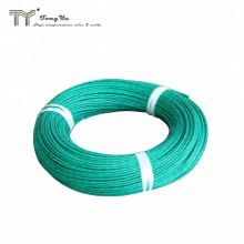 AGRP high temperature silicone insulated fiberglass braided wire, tinned copper, stranded, 300/500v