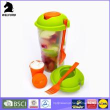 Hot Selling plástico colorido salada Cup