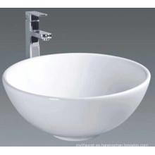 Lavabo de cerámica del lavabo del lavabo (7537)