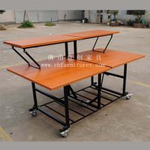 Melamine Double-Deck Buffet Table (YC-T58-02)