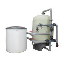 Single FRP Resin Tank Large Capacity Water Softener