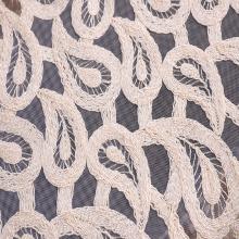 Broderie de cordon de mode pour le tissu de vêtement de femme