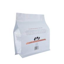Biodegradable Food Plastic Packaging Nut Pet Film Aluminum Foil Ziplock Plastic coffee Box Bag