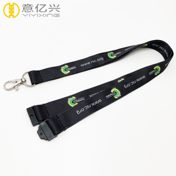 Keychain id badge sublimation homard crochet longe
