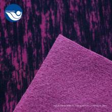 Tissu jacquard de chemisage imprimé par polyester pour des vêtements
