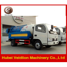 Dongfeng Mini 3m3 vacuum Sewage Suction Truck for Sale