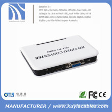 Адаптер 1080P Audio VGA для HDMI HD HDTV для конвертера видео для ПК