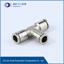 Air-Fluid HP Slip Lok Fittings Equal TEE.