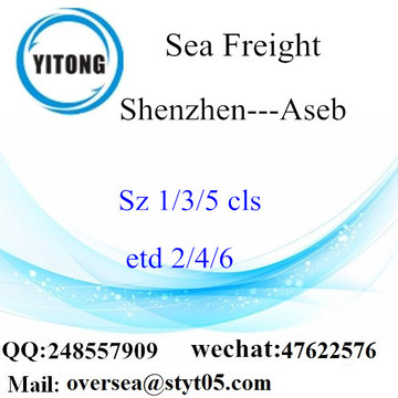 Shenzhen Port LCL Consolidation To Aseb