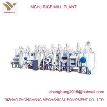 MCHJ tipo precio de planta de molino de arroz