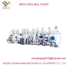 MCHJ type price of rice mill plant