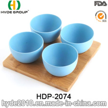2016 New Style Eco-Friendly Bamboo Fiber Bowl (HDP-2074)