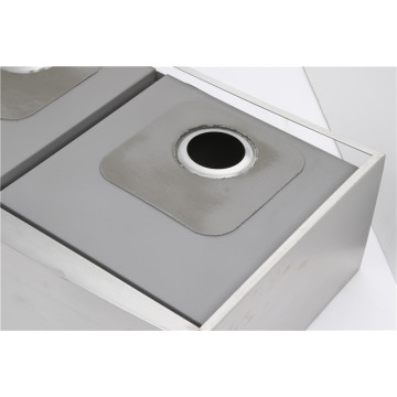 Unter Counter Dual Basin SS