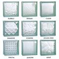 Bloque de cristal 190 * 190 * 80mmsolid