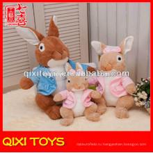 Дешевые пользовательские плюшевые игрушки Кролик плюшевые кролик игрушка