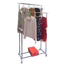Carrinho de airer de roupas para economizar espaço