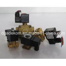 Винтовые компрессорные части 2-проводные электромагнитные клапаны