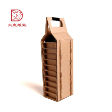 Factory OEM recyclable corrugated cardboard classical wine gift box set