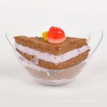 Disco de plástico plato desechable grande de estilo chino Bowl