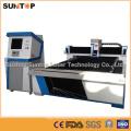 Máquina de corte do laser do aço inoxidável de 800 watts / máquina de corte do laser para o corte da folha de metal