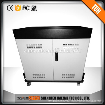 Charge et synchronisation en toute sécurité Laptop / talbet charge cart with moving