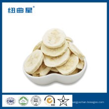 Chips de banane aux fruits lyophilisés