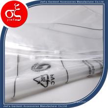 Le meilleur sac en plastique transparent de Ziplock de prix pour l'habillement