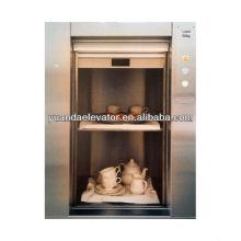 Yuanda ascensor de alimentos residenciales