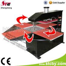 Vier Stationen Wärmeübertragung Presse Maschinen