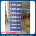 Luxus Silber Pull-up-Banner-Roller-up-Banner