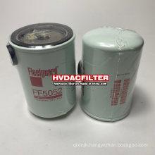Replace Fleetguard Oil Filter Element Construction Machinery Equipment Parts FF5052 Diesel Filter