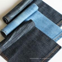 Textilstoff Baumwollgarn gefärbt Indigo Denim-Stoff für Kleid und Hemd