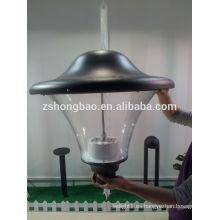 Hongbao HBF-074 Luz del jardín del LED con las virutas de BridgeLux 3000K 35watt 45watt 60watt 4M poste de la lámpara